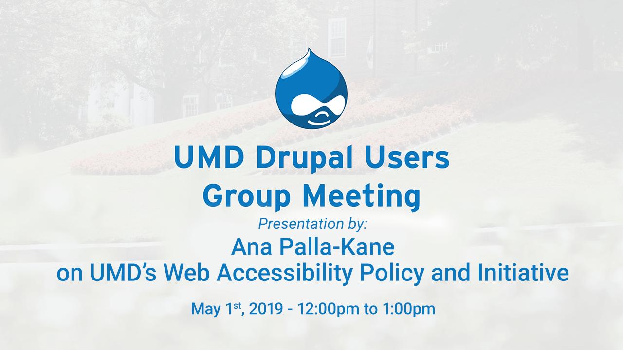 May 2019 DUG Slide