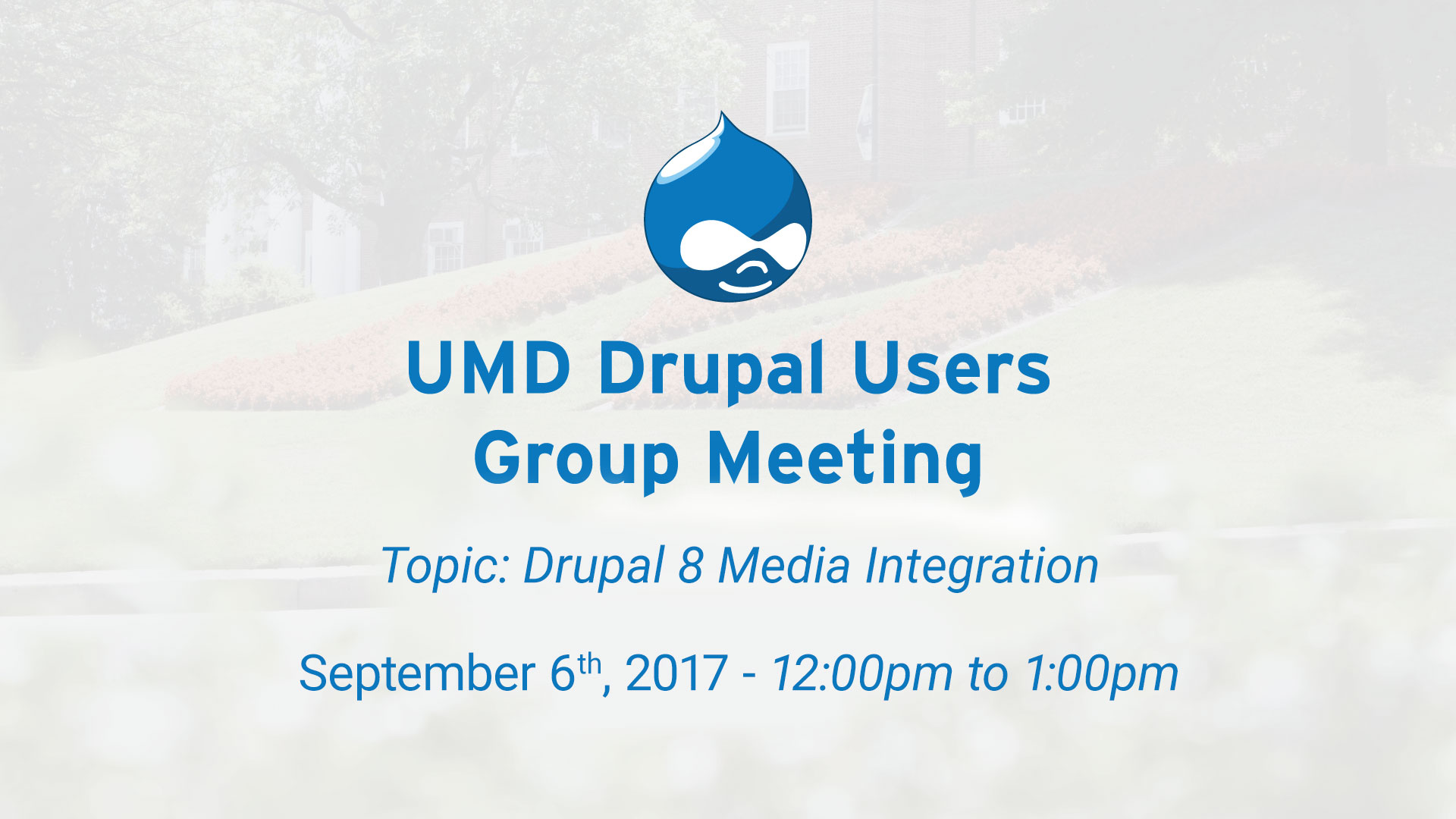 Drupal Users Meeting - Drupal 8 Media Integration