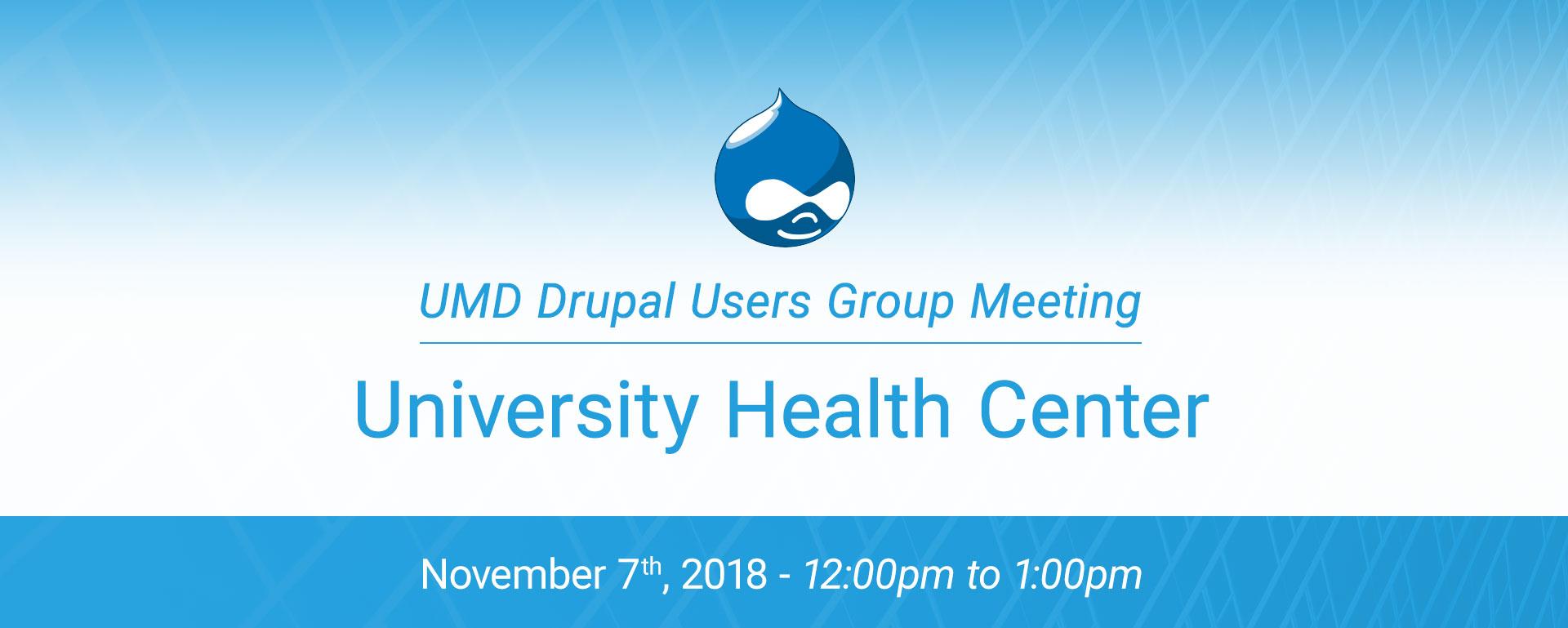 DUG - Health Center Website Presentation