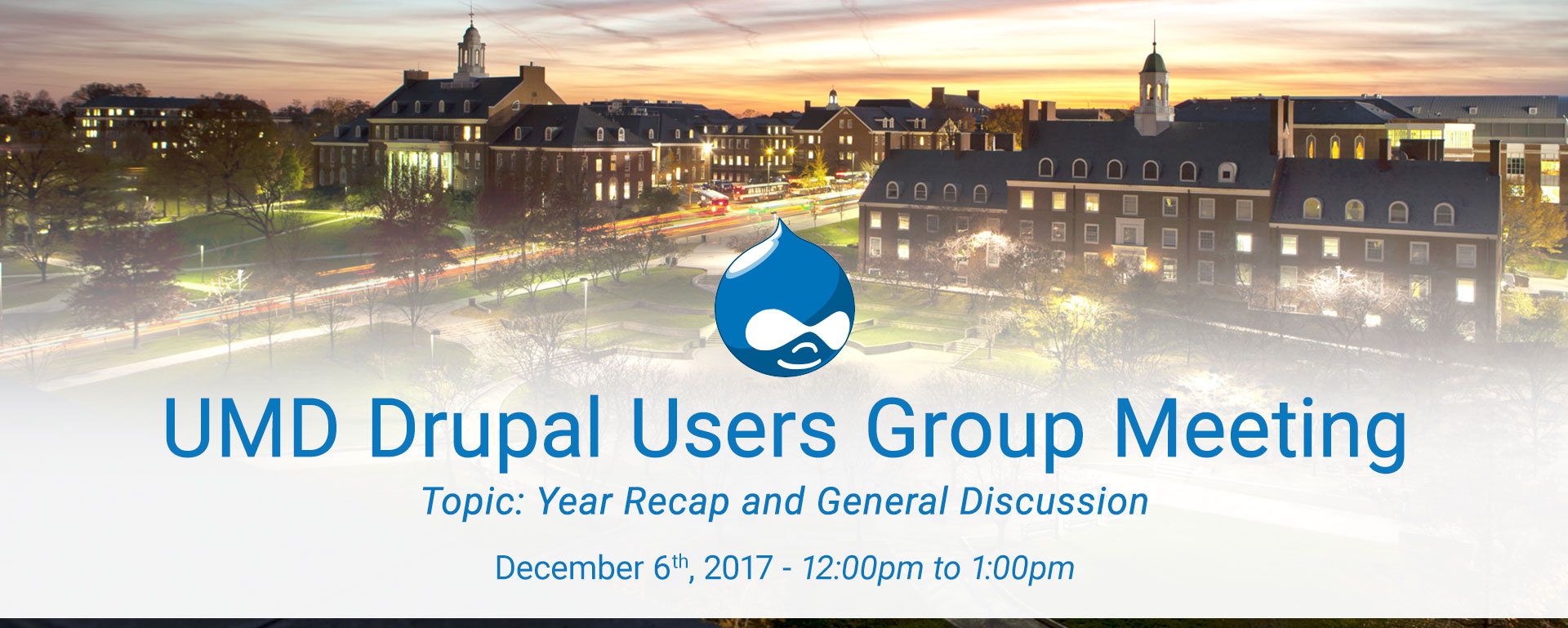 Drupal Users Meeting - End year 2017