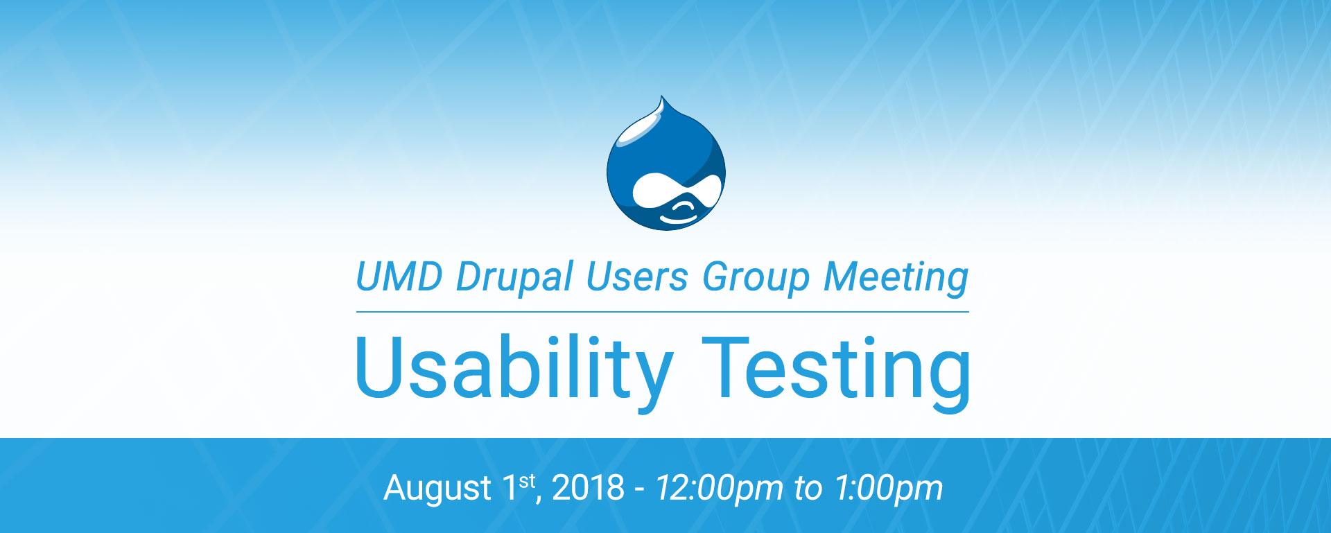 DUG - Usability Testing